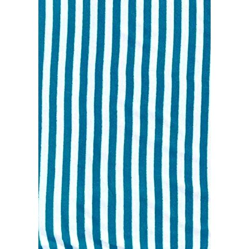 Turkish Bath Cotton Cabana Shering 400 GSM Stripe Bath Towel (Sky Blue)