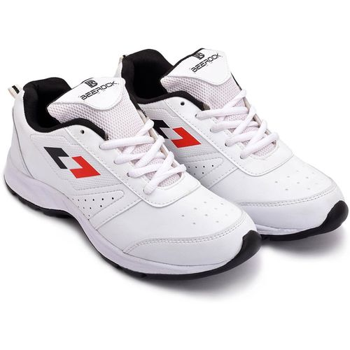 Beerock Proline Running Shoes For Men(White, Black, Red)