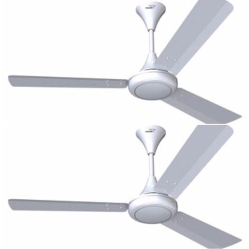 V-Guard Glado 400 3 Blade Ceiling Fan(Brown, Ivory, White, Pack of 2)