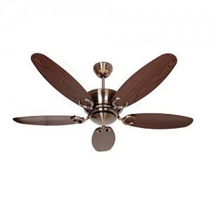 Polycab Superia Lite SP04 1200mm Decorative Ceiling Fan - Dark Brown