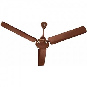 Polycab Zoomer 75-Watt Ceiling Fan (900-mm, Brown)