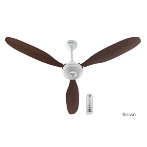 Superfan Super X1 Ceiling Fan with Remote Control (Capacity: 35 Watts, Color Brown)