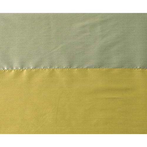 Deco Window Blackout Modern Wrap Polyester Eyelet Window Curtain Set of 2-5 Ft, Mimosa
