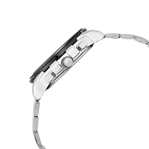 Lamkei Chronograph Silver Stainless Steel Men Watch LMK-0127
