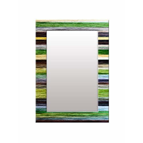 999Store Printed Multi Color Pattern Mirror