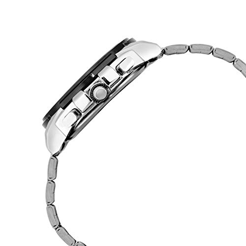 Lamkei Chronograph Silver Stainless Steel Men Watch LMK-0061