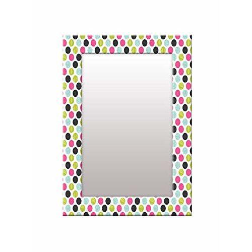 999Store Printed Multi dot Art Pattern Mirror