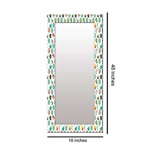999Store Printed Multi dot Pattern Mirror
