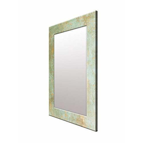 999Store Printed Grey Marble Pattern Mirror