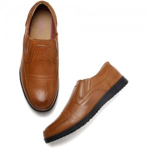Roadster Loafers For Men(Tan)