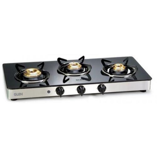 GLEN CT1033GTBBAI 3 Brass Burners Steel Automatic Gas Stove(3 Burners)