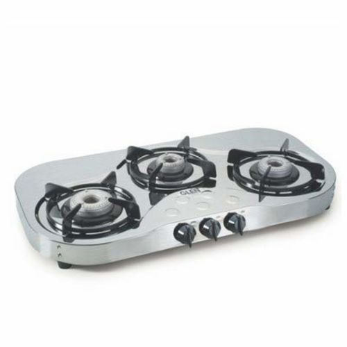Glen 3 Burner Stainless Steel Gas Stove 1035 High Flame