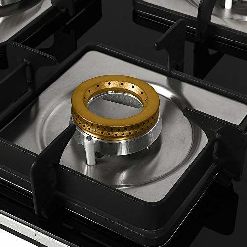 Faber Hob Hybrid Glass 4 Burner Cooktop, Black (106.0493.745)