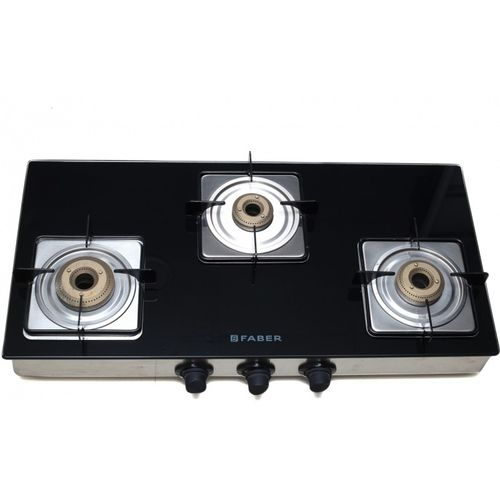 Faber SUPREME 3BB Stainless Steel Manual Gas Stove(3 Burners)
