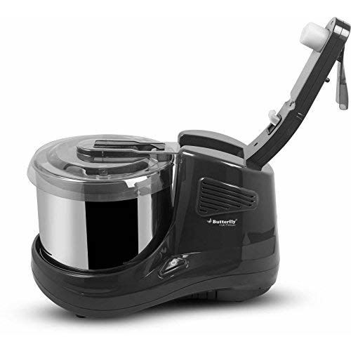 Butterfly Matchless Pro 2-Litre Table Top Wet Grinder (Grey)