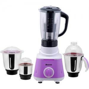 ANJALIMIX 4jarviolet600 600 Mixer Grinder(Violet, 4 Jars)