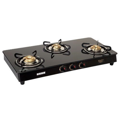 Usha EB GS3 001 Cooktop Ebony 3001 (Black)