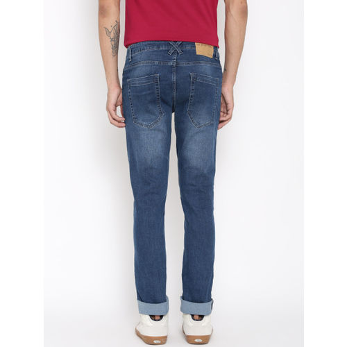 United Colors of Benetton Men Blue Skinny Fit Stretchable Jeans