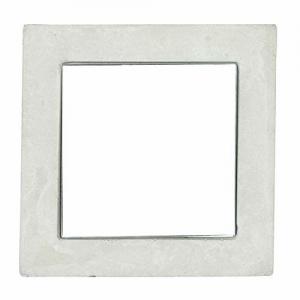 Casa Décor Casa Dcor Dulce Square Concrete Mirror Decorative Glass for Wall Mirror Home Dcor Mirror