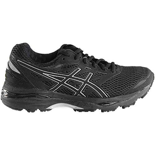 Buy Asics Women S Gel Cumulus 18 Running Shoe 7 B M Us Black Silver Black Online Looksgud In