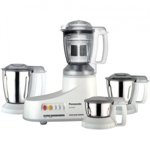 Panasonic MX AC 400 550 W Mixer Grinder(White, 4 Jars)