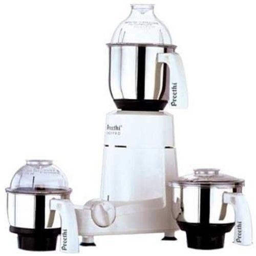 Preethi Chefpro - MG 128 750 W Mixer Grinder(White, 3 Jars)