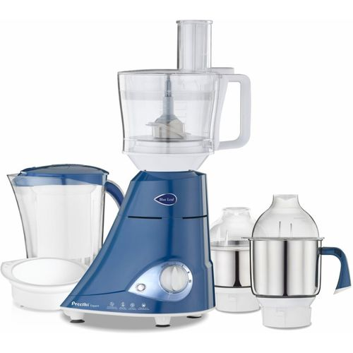Preethi Blue Leaf Expert MG 214 750 W Juicer Mixer Grinder(Blue, 4 Jars)