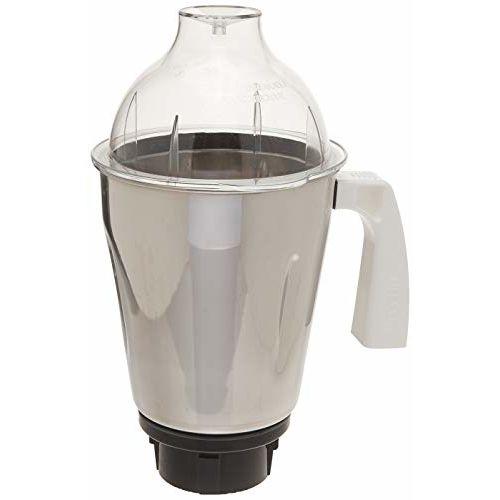 Preethi MGA-514 1.75-Litre Taper Jar (Steel/Transparent)