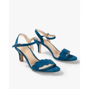 AJIO Open-Toe Stilettos with Slingback