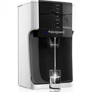 Aquaguard Magna HD RO + UV 7 L RO + UV Water Purifier(White, Black)