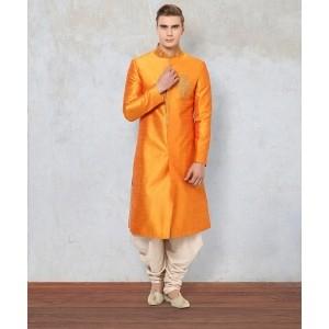 Yepme Adam Orange Sherwani