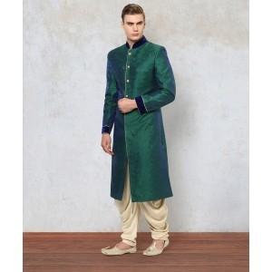 Yepme Adler Green Sherwani