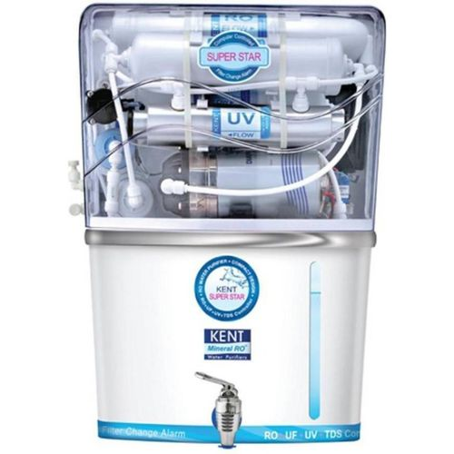 Kent Super Star litre 7 L RO + UV + UF Water Purifier(White)
