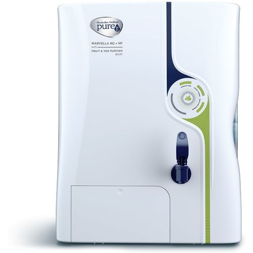 Pureit Marvella with Fruit and Veg Purifier 8 L RO + UV Water Purifier(White, Blue)
