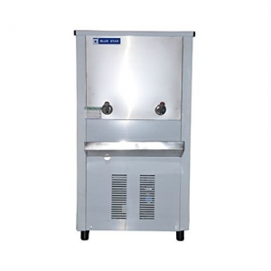 Blue Star Stainless Steel Water Cooler Model SDLX480 with 40 L Cooling, 80 L Storage(Metallic)