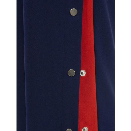 FabAlley Women Blue Solid Basic Jumpsuit