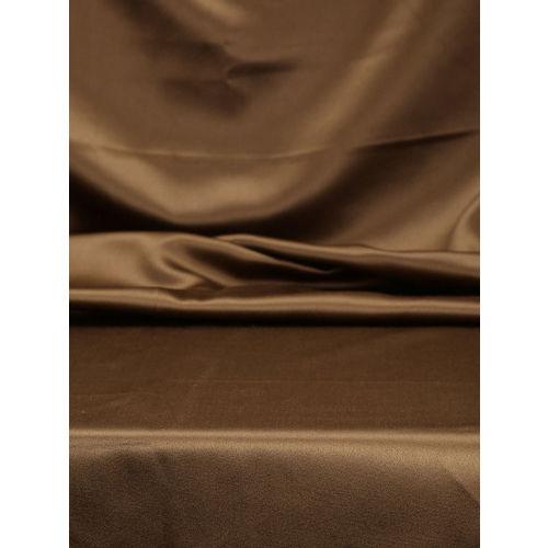 SWAYAM Brown Single Reversible Blackout Long Door Curtain