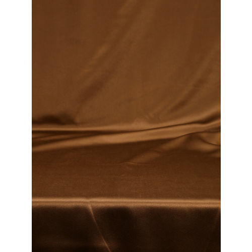 SWAYAM Coffee Brown Single Blackout Window Curtain