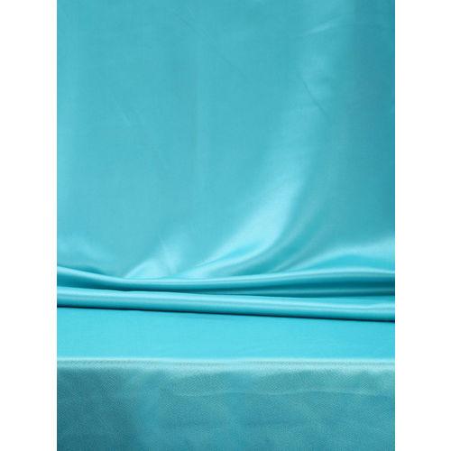 SWAYAM Turquoise Blue Single Blackout Long Door Curtain
