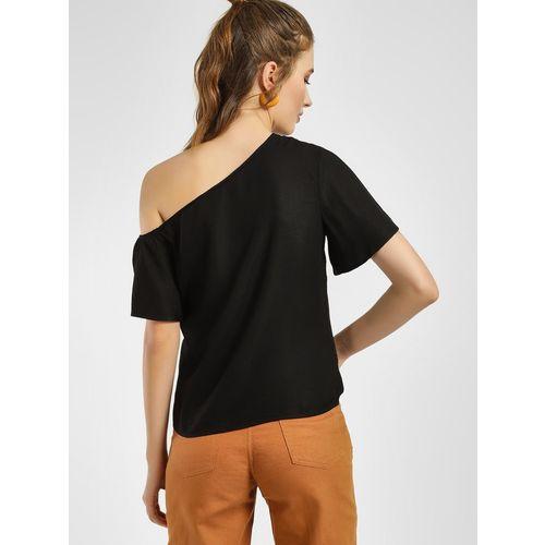 Femella Women Black Solid Top