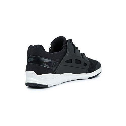 Lotto Men's Donato Black White Running Shoes - 6 UK/India (40 EU)