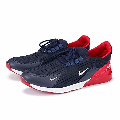 Maddy Men's Blue & Red Sports Shoes for Men's(7)