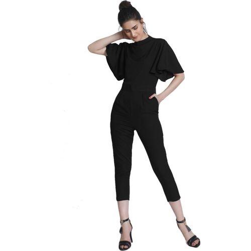 Raaika Black Solid Women's Jumpsuit