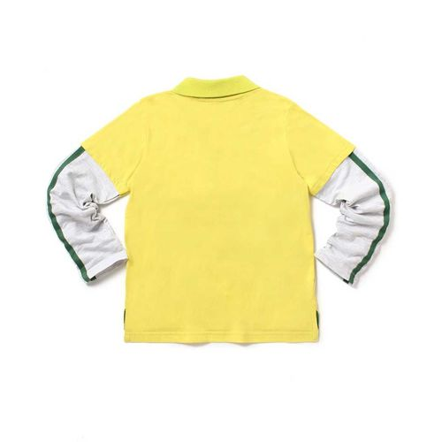 Cub McPaws Boys Printed Cotton T Shirt Yellow