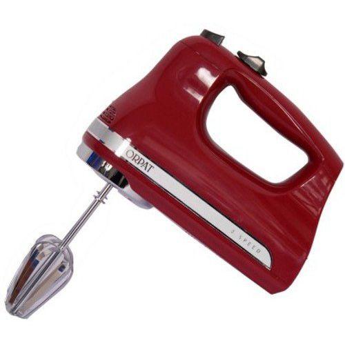 Orpat OHM 217 200-Watt Hand Mixer (Red)