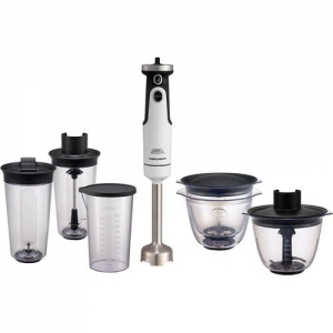 Morphy Richards Total Control Prep Set 650 W Hand Blender(White)