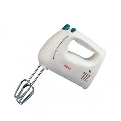 Nova Plastic Household Appliances NM-62 Hand Mixer/Beater(White,250W) 220 Hand Blender(White)