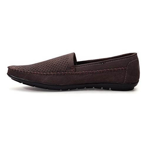 Bacca Bucci Men's Brown Loafers - 8 UK, BBMC4102C