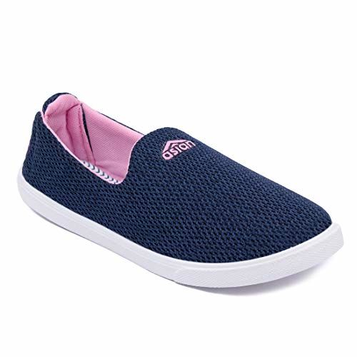 ASIAN Grace-11 Blue Running Shoes,Gym Shoes,Training Shoes,Casual Shoes,Canvas Shoes,Walking Shoes,Loafers,Sneakers for Women UK-7