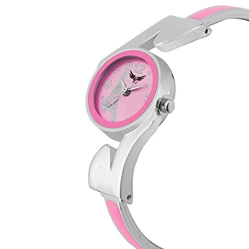 Vills Laurrens VL-7138 Adorable Pink Dial Analogue Watch for Women
